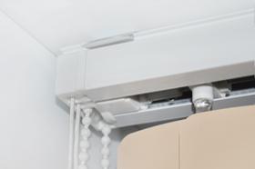 Вертикальные жалюзи V-FORM PLAST крепление на потолок